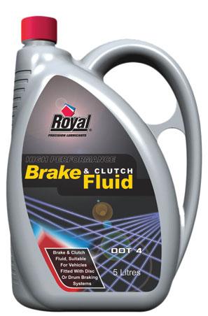 Royal Lubricants| Brake & Clutch Fluid Dot 4