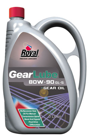 Royal Lubricants| Gear Lube 80W-90 GL-5 EP